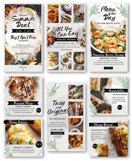 Modern Food Menu Instagram Stories - 2