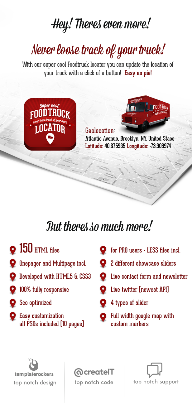 food truck restaurant 20 styles wp theme by createit pl