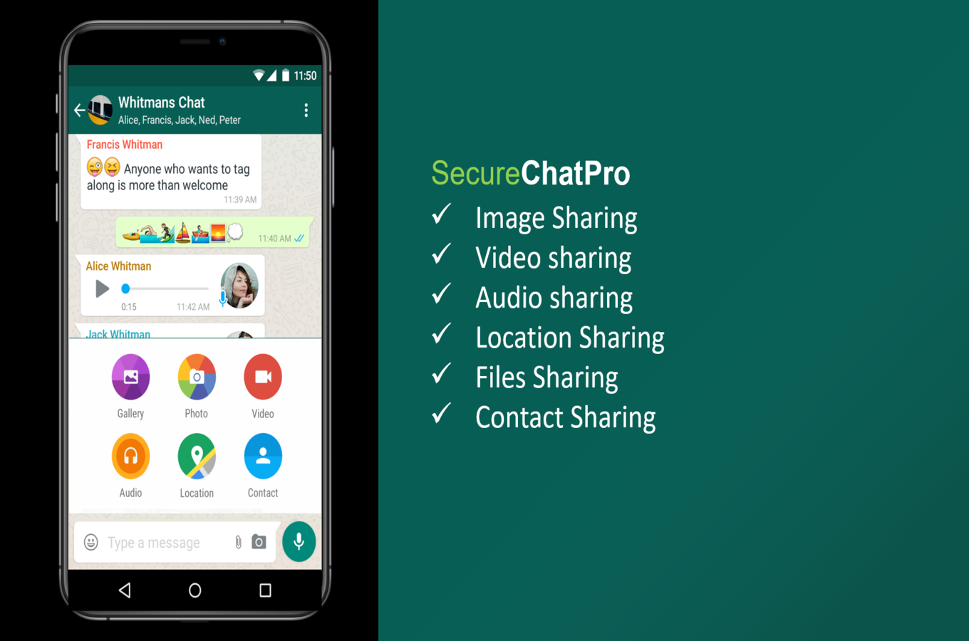 SecureChatPro - A Complete Whatsaap Clone - 5