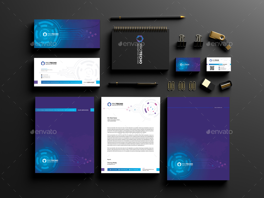 Artificial Intelligence Business Card - 6