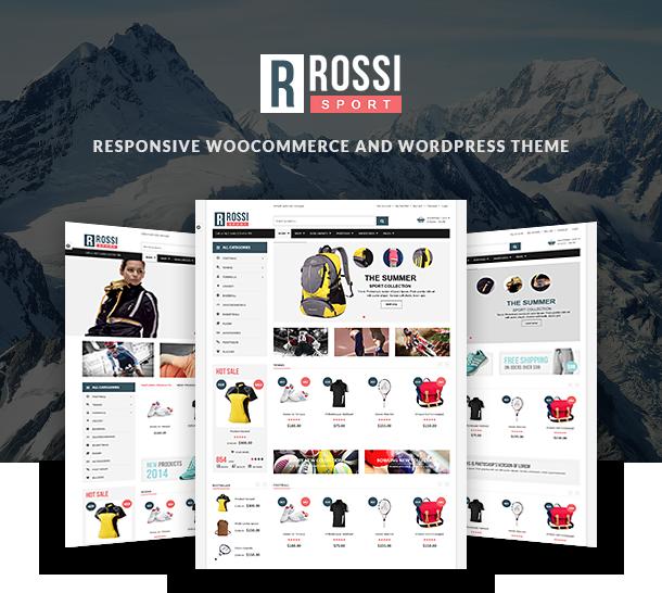 VG Rossi - Responsive WooCommerce WordPress Theme by VinaWebSolutions