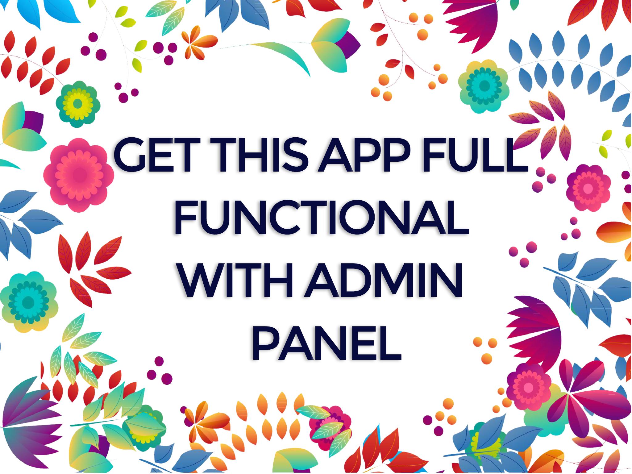Full Functional App