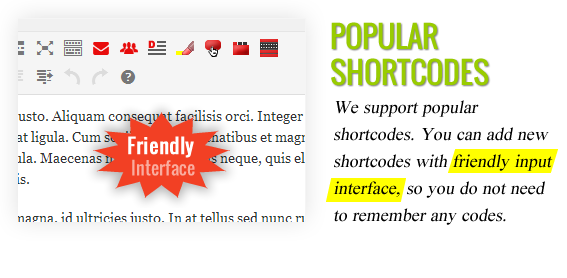 Popular Shortcodes - Maginess – Flexible Magazine WordPress Theme