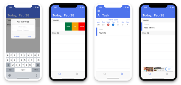 TODO App - iOS App For Task List (Local Storage) - 2