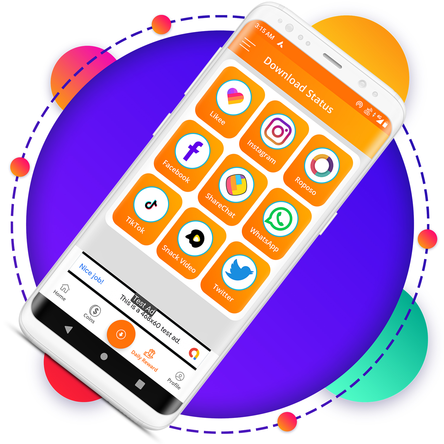 QuickCash All In One Money Earning Android App + Games + WhatsApp Tools + Earning System Admin Panel - 6