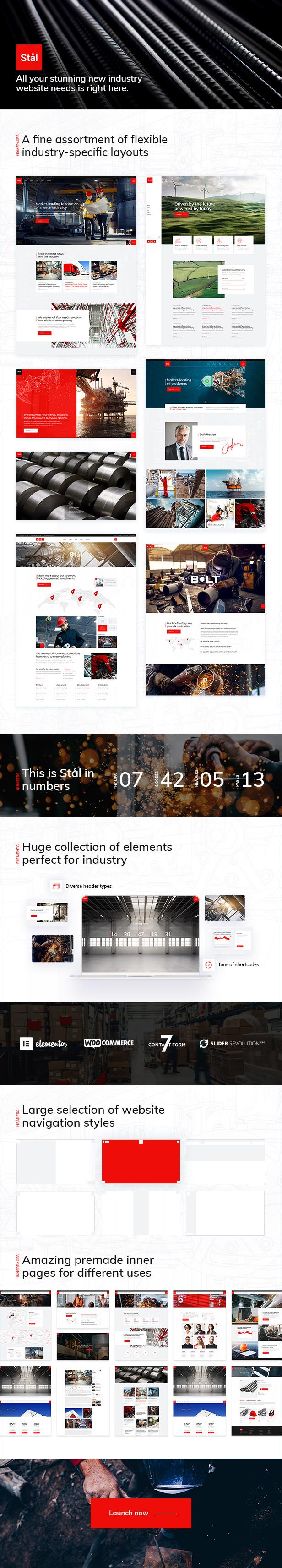 Stl - Industry WordPress Theme - 1