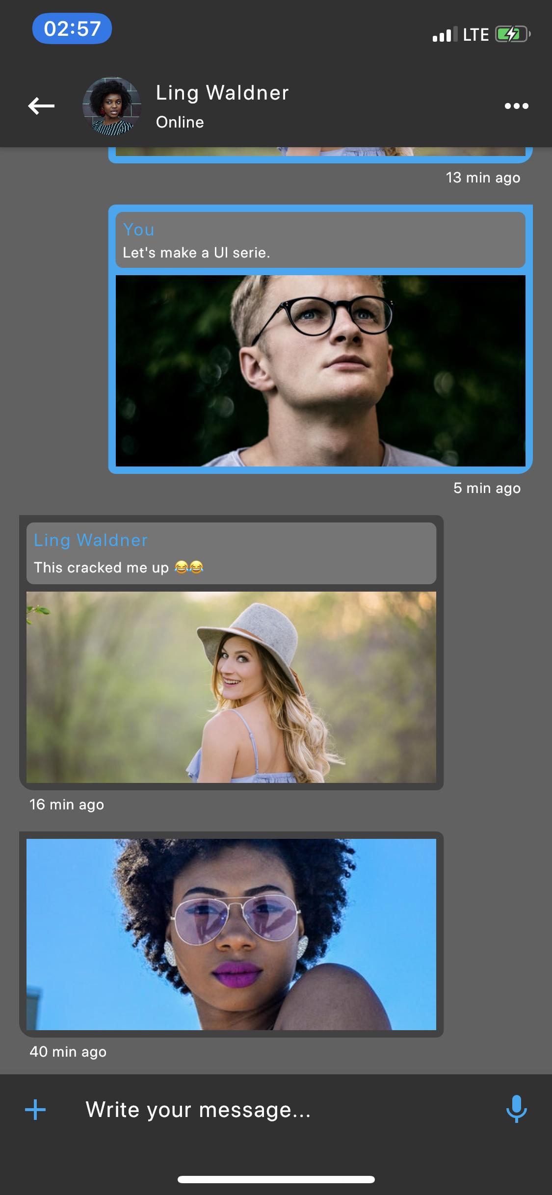 Social Media App UI Kit - Flutter - 8