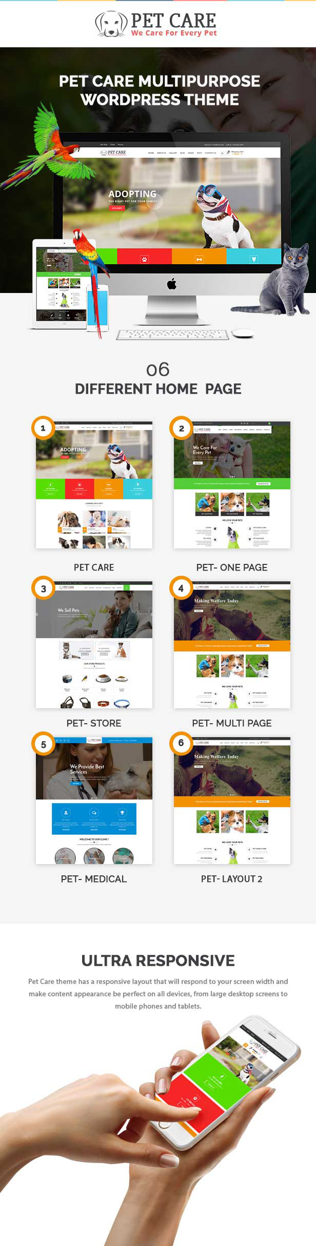 petcare features