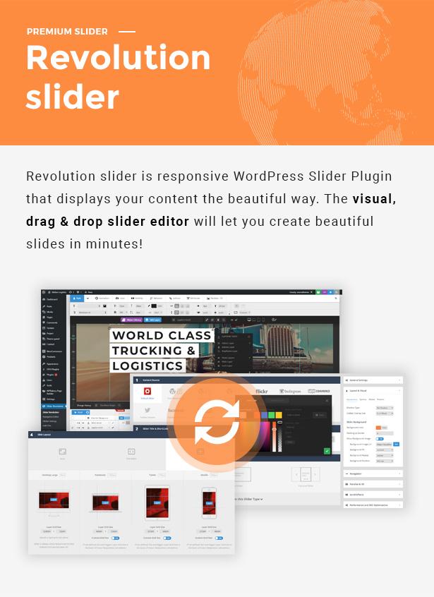 Globax - Logistics WordPress Theme + Woocommerce - 7
