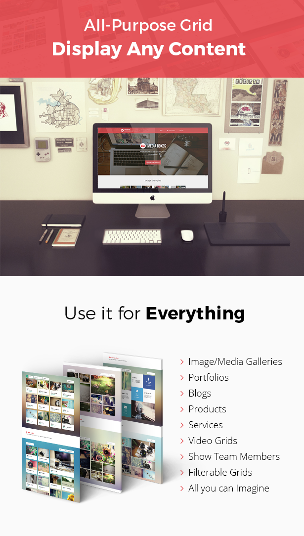 Media Boxes Portfolio - Responsive jQuery Grid Plugin - 2