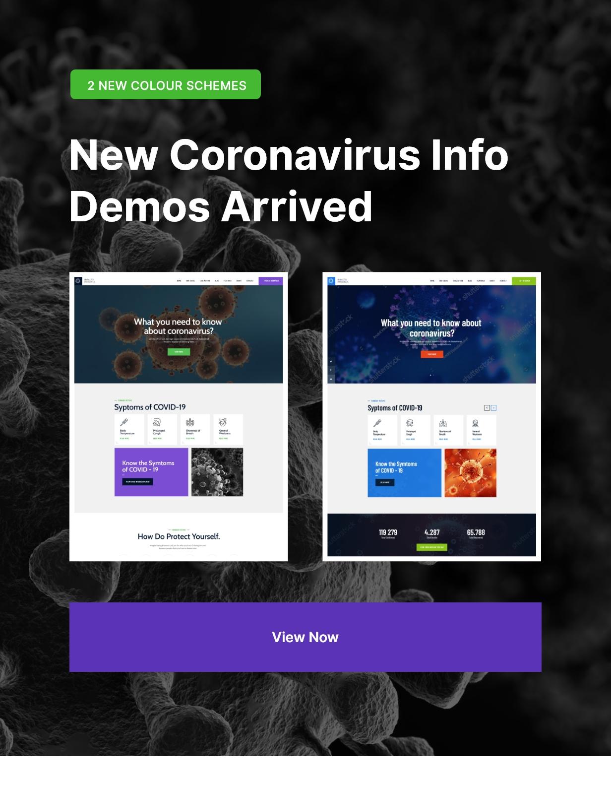 Coronavirus/Covid Homepage