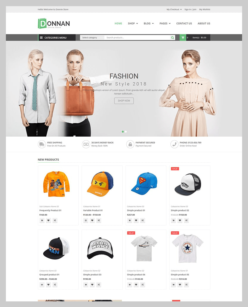 VG Donnan - Multipurpose Responsive WooCommerce Theme - 8