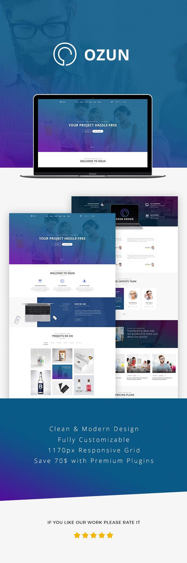OZUN - Creative and Multipurpose WP Theme - 6