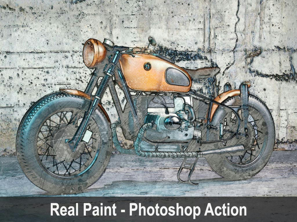 Real - Paint Action