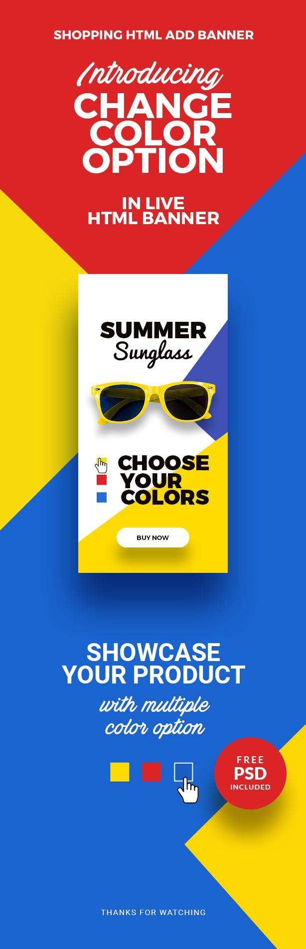 Shopping - HTML5 Animated Banner 20 Advance - 1