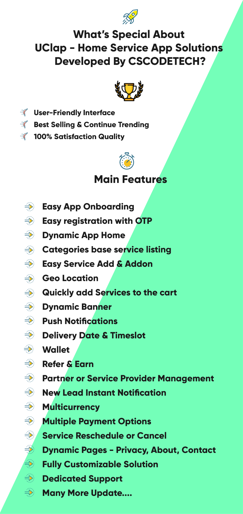 UClap - On Demand Home Service App   UrbanClap Clone   Android App with Interactive Admin Panel - 2