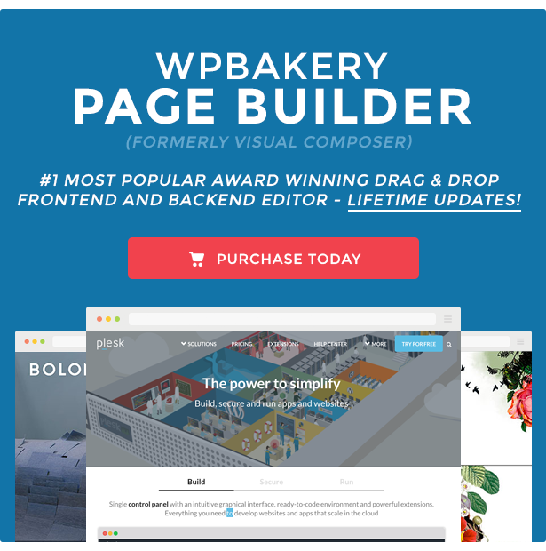 WPBakery Page Builder v5.4.5 – WordPress (formerly Visual Composer) Plugin