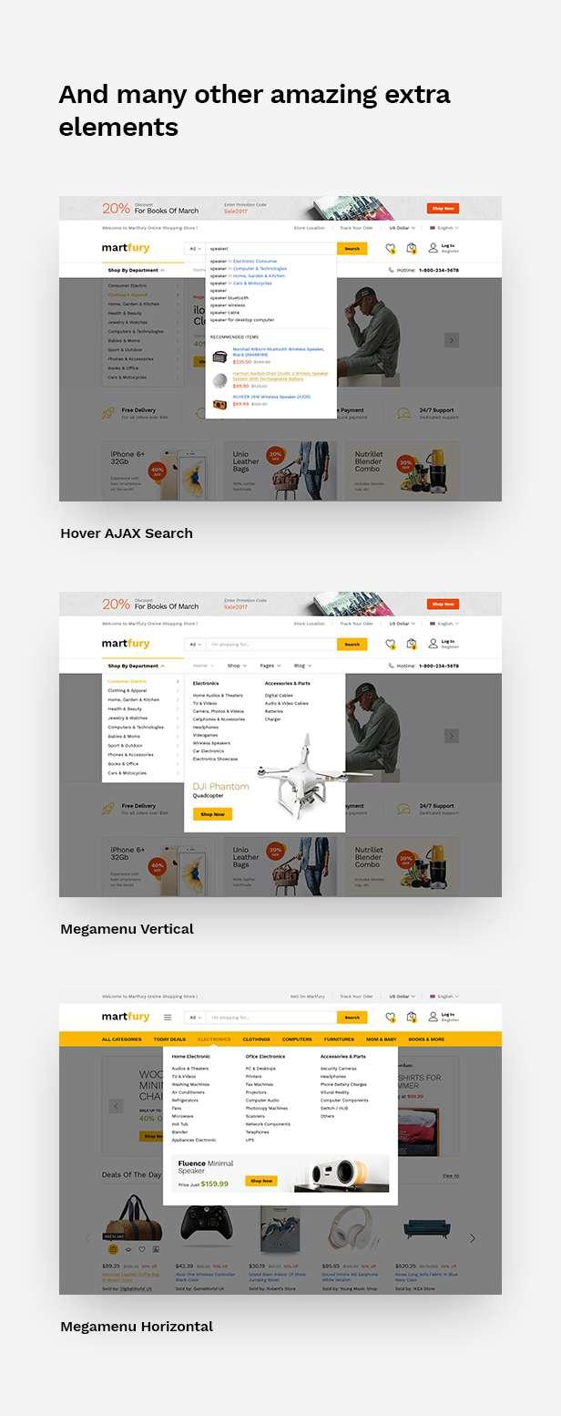 MartFury | Multi-Vendor & Marketplace eCommerce PSD Template - 23