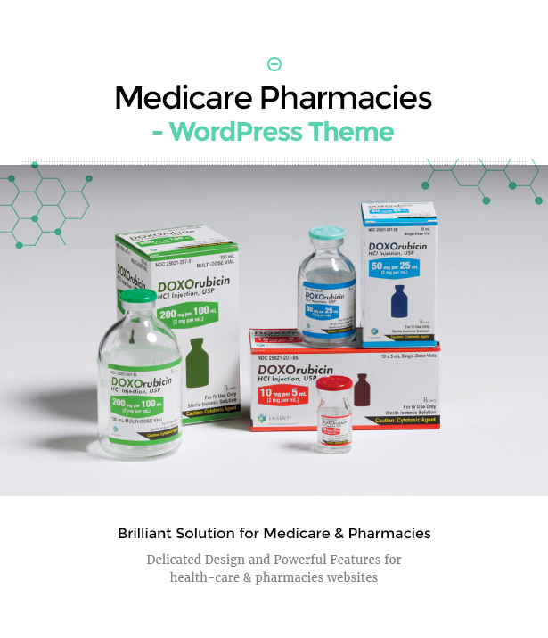 Medicare Pharmacies best healthcare wordpress theme
