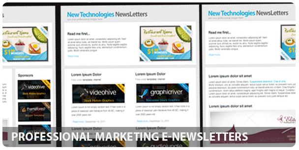 Professional Domain Hosting E-newsletters - 10