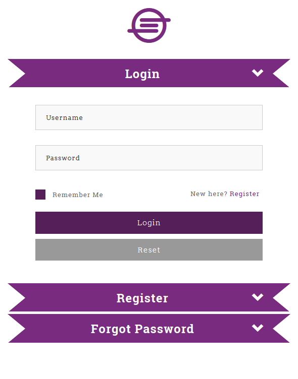 Pagli Bootstrap Collapse Log In Register Form By Coderightsell