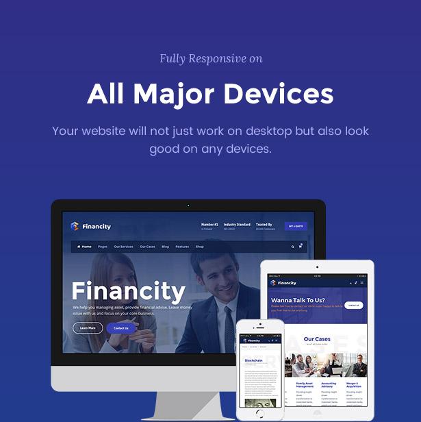 Financity – Business / Financial / Finance Tema de WordPress ...