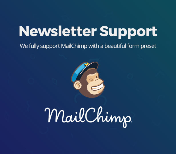 Mailchimp newsletter support
