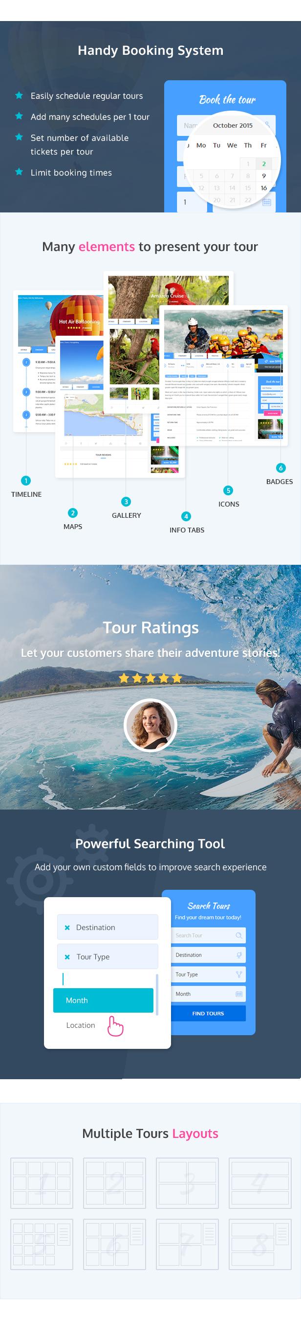 Adventure Tours - WordPress Tour/Travel Theme - 3