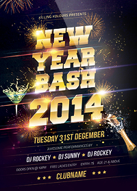 New Year Party Flyer - 29