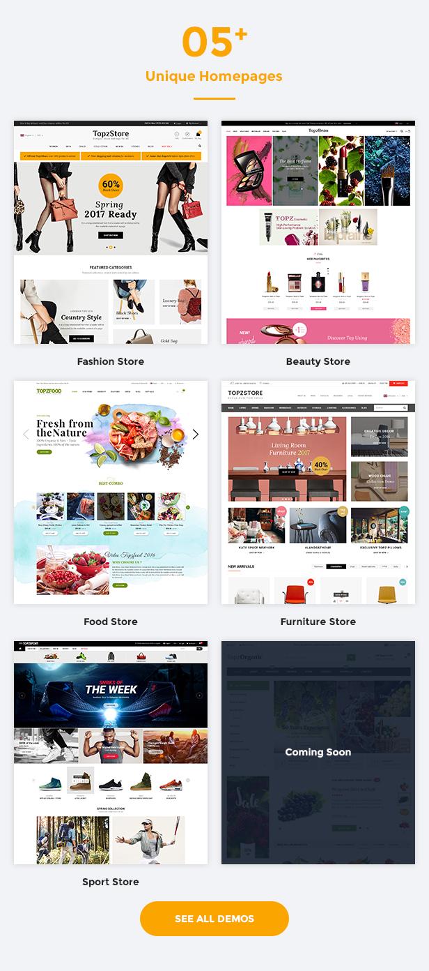 SM TopzStore - Homepage