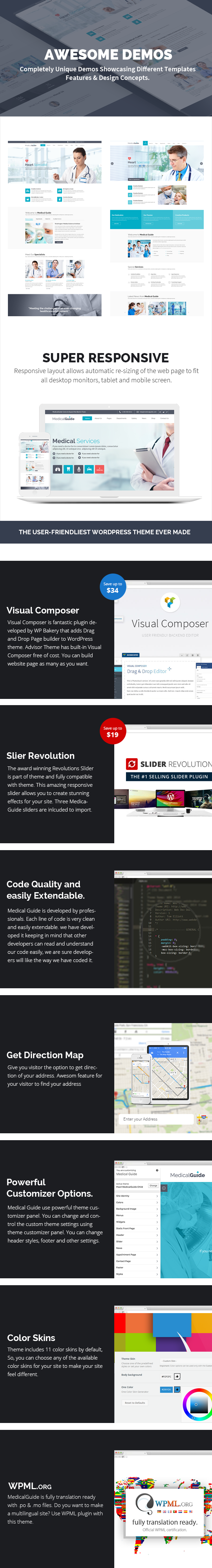 MedicalGuide - Health and Medical WordPress Theme