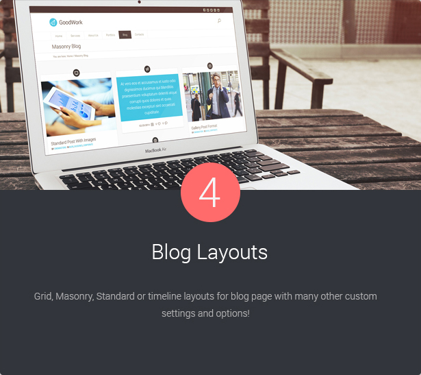 4 Blog Layouts