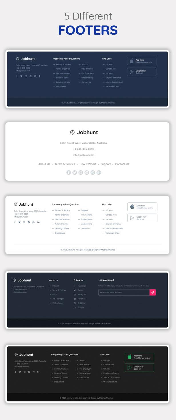 Jobhunt - Job Board WordPress theme for WP Job Manager - 10