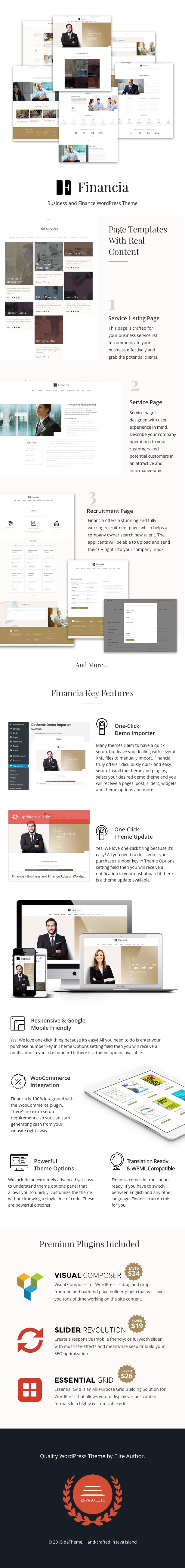 Financia - Business and Finance WordPress Theme - 1
