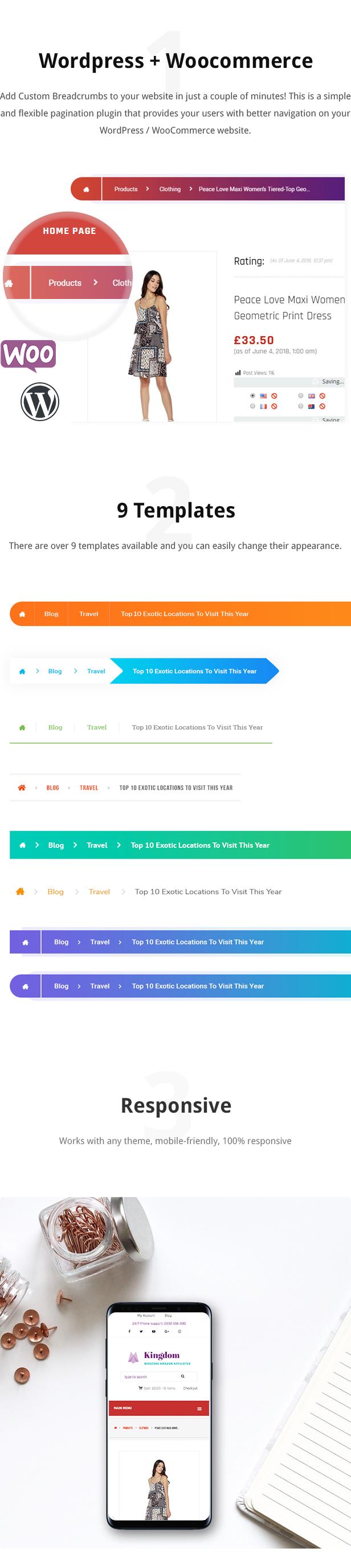 Wordpress / WooCommerce Custom Breadcrumbs Plugin - 1