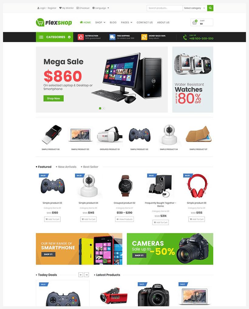 VG Flexshop - Multipurpose Responsive WooCommerce Theme - 9