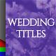 Wedding Pack - 8