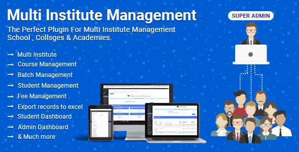 Multi Institute Management  - CodeCanyon Item for Sale