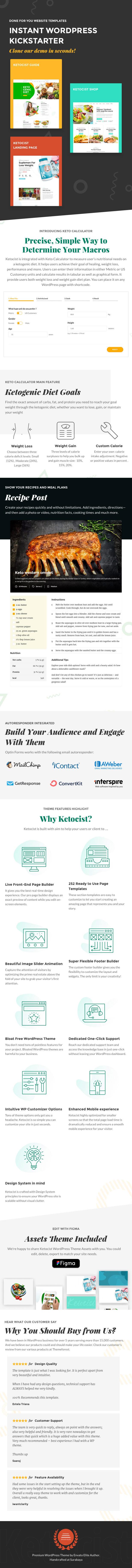 Ketocist - Keto Diet WordPress Theme - 1