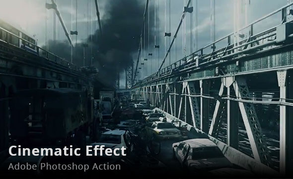 Cinematic Effect Photoshop Action
