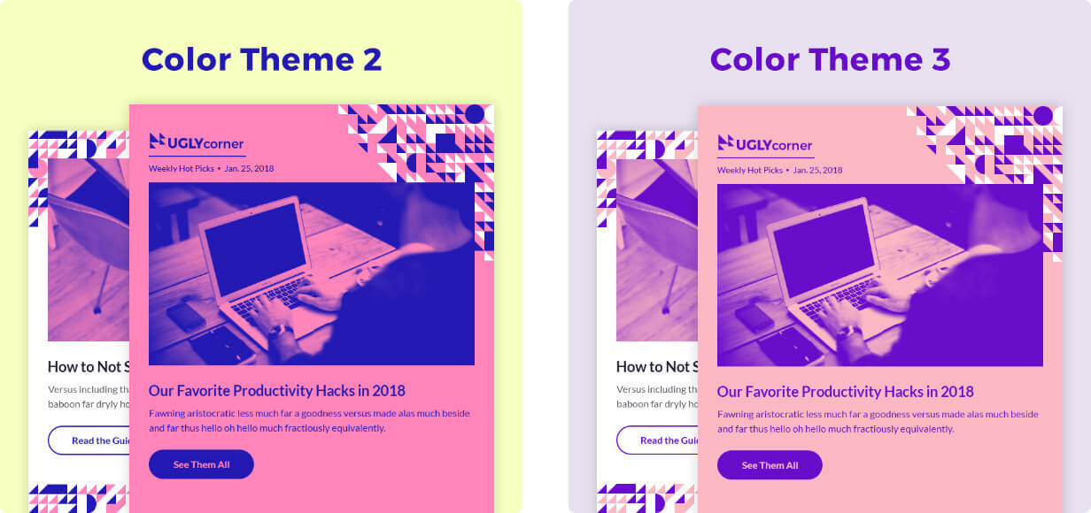 2 Extra Color Themes