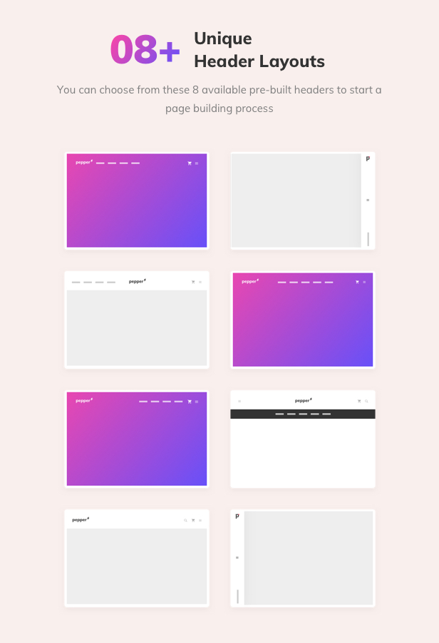 Pepper - Elegent Multi Purpose WordPress Theme - 13