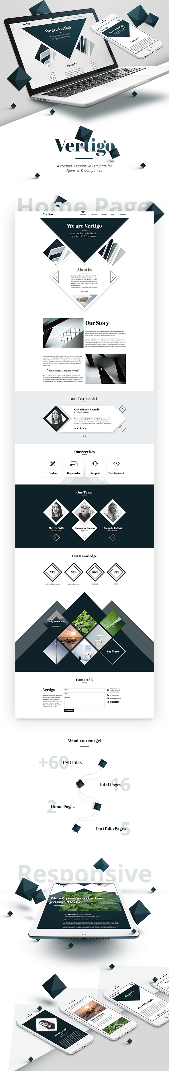 Vertigo - Creative Theme for Agencies & Companies - 3