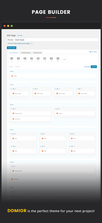 Domior - Creative Personal Portfolio WordPress Shop Theme - 9