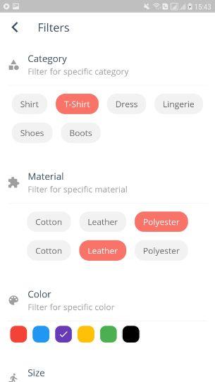 Relin - E-Commerce-App-Vorlage für Flattern - 23