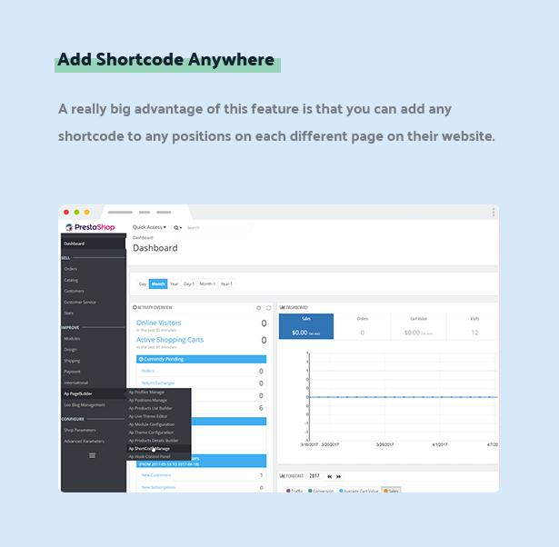 add shortcode anywhere