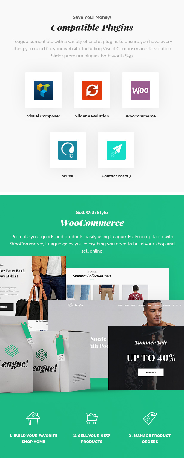 Business League - A Powerful Theme for Business, Freelancers and Agencies - 7