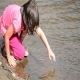 Girl Playing In Water - 24