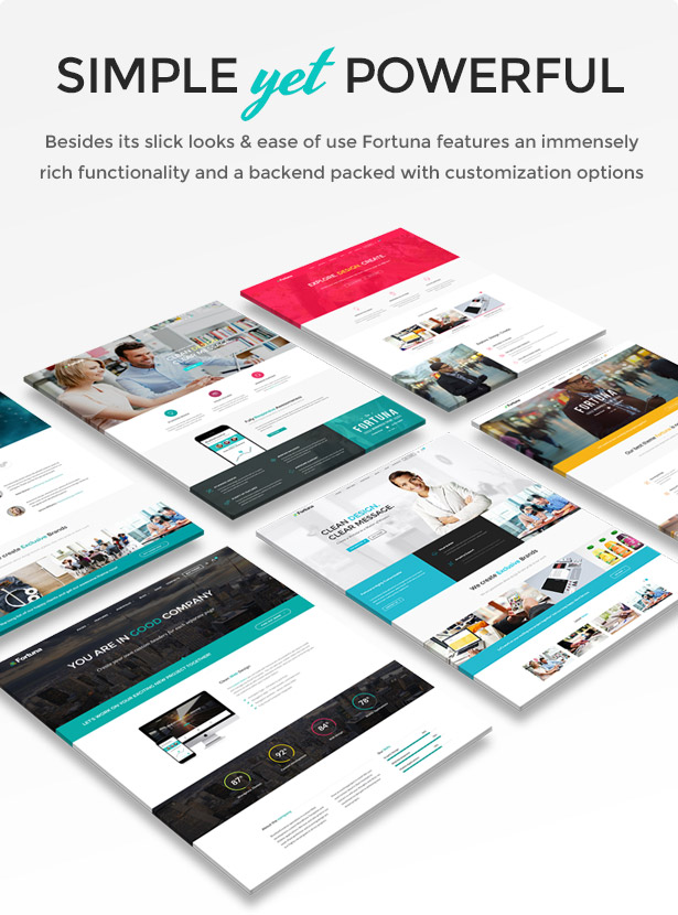 Fortuna - Responsive Multi-Purpose WordPress Theme - 4