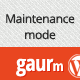 Gaurm - Simple Maintenance mode with animation